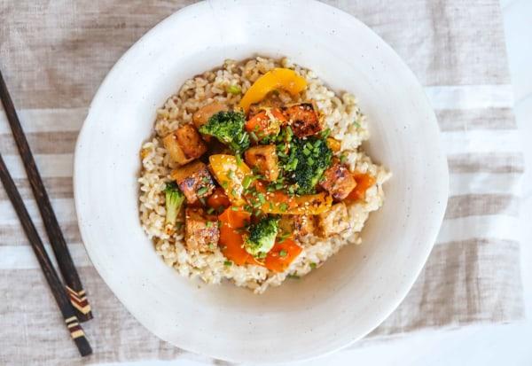 Image of Vegan Tempeh Stir Fry Recipe