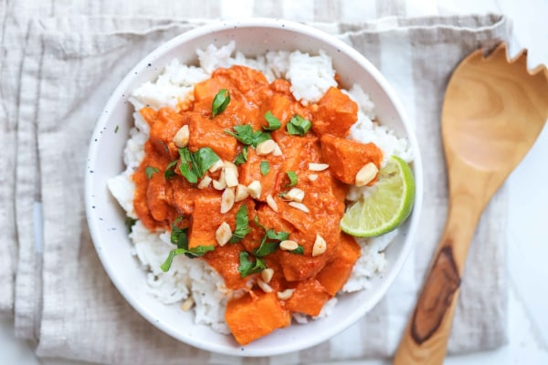Image of Vegan Sweet Potato Curry Recipe