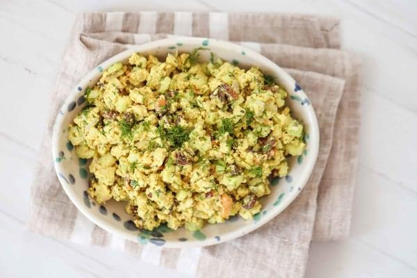 Image of Vegan Tofu Salad Curry Recipe