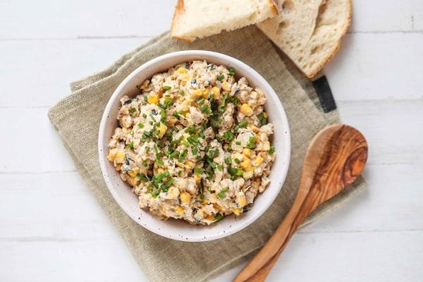 Image of Vegan Mock Tuna Salad Recipe
