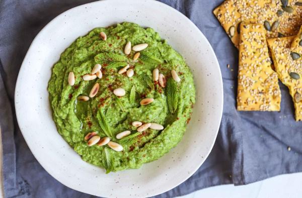 Image of Vegan Green Mint Dip Recipe