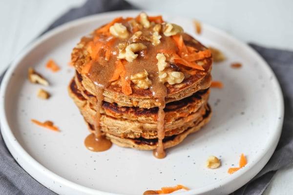 Image of Vegan Carrot Caramel Pancake Recipes