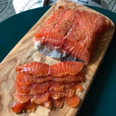 Image of Fennel Pollen Cured Salmon