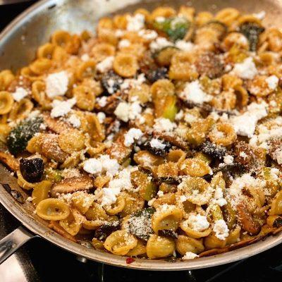 Image of Mushroom & Olive Orecchiette