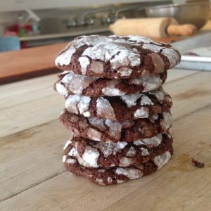 Image ofSpiced Brownie Biscuits