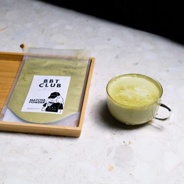 Image ofMatcha Milk Tea Recipe