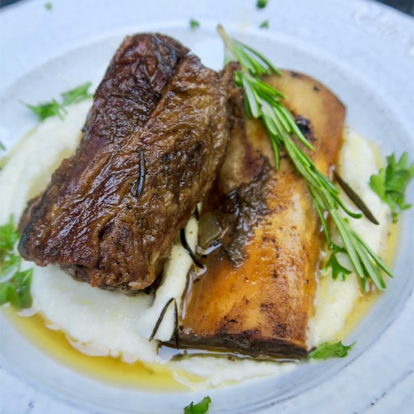 Image of slow cook beef short ribs