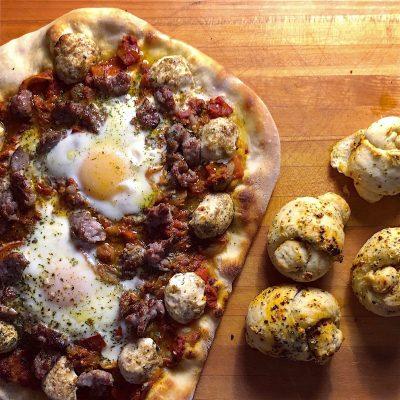 Image ofShakshuzza - Shakshuka Pizza