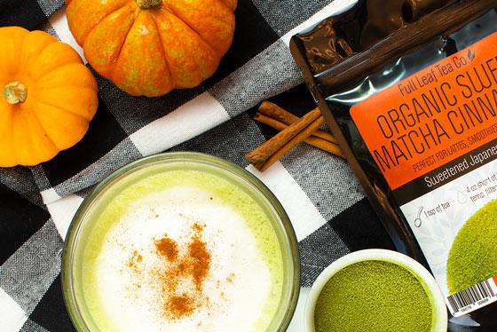 Image ofCraft a DELECIOUS cinnamon matcha latte