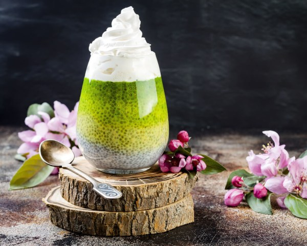 Image ofMatchia Seed Pudding