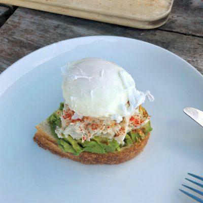 Image ofEspelette Crab Toast