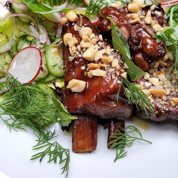 Image of Glazed Lamb Ribs