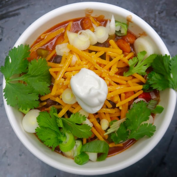 Image ofvegetarian chili for a crowd