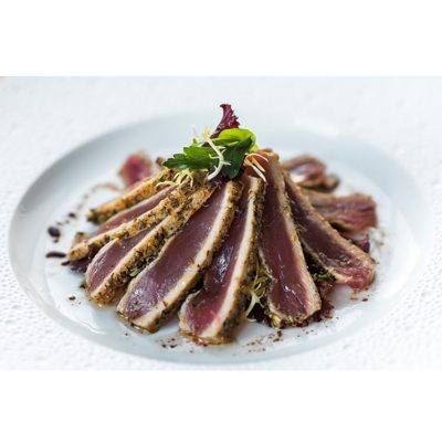 Image of Riviera Crusted Tuna with Herb Salad