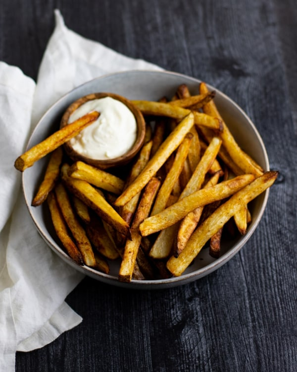 Image ofOven Baked Fries with Garlic Aioli