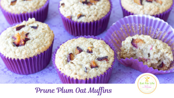 Image of Prune Plum and Oat Muffins