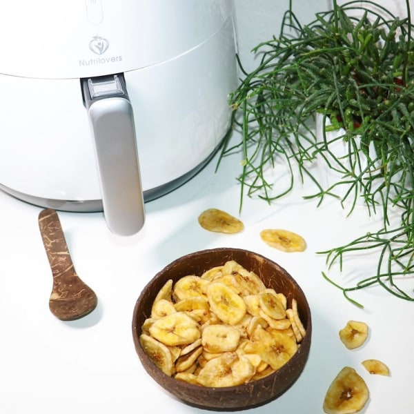 Image of 🍌 Fettarme Bananenchips