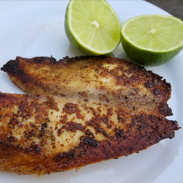 Image ofseasoned tilapia filet