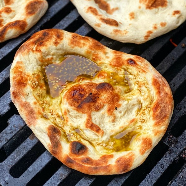 Image of Grilled Za'atar Pita