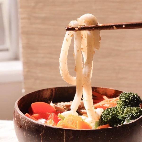 Image ofHot Udon Vegan Noodle Bowl
