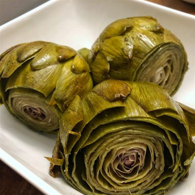 Image of Steamed Artichokes