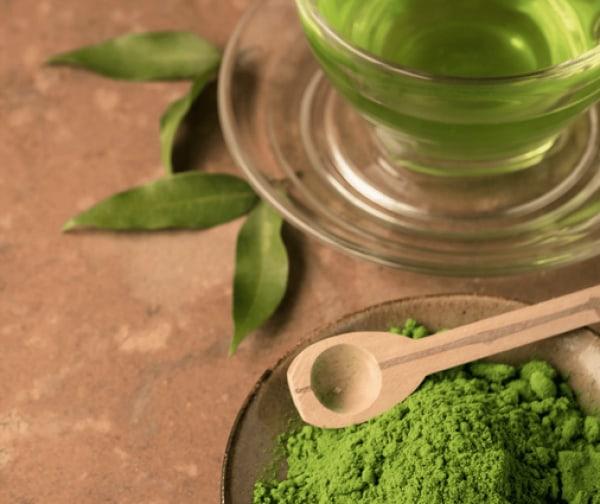 Image ofgreen tea wine