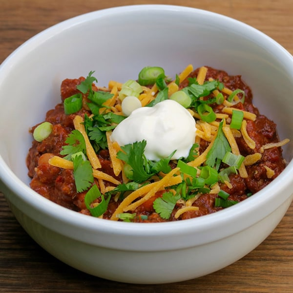 Image of fiesta chili (for a party!)