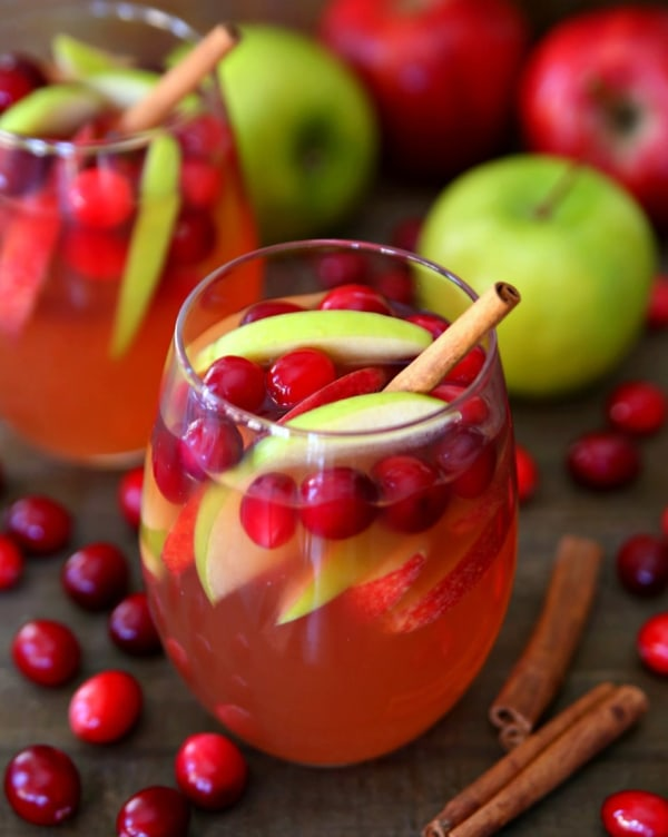 Image ofcranberry apple wine