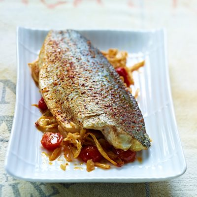 Image of Striped Bass With Fennel & Preserved Lemon