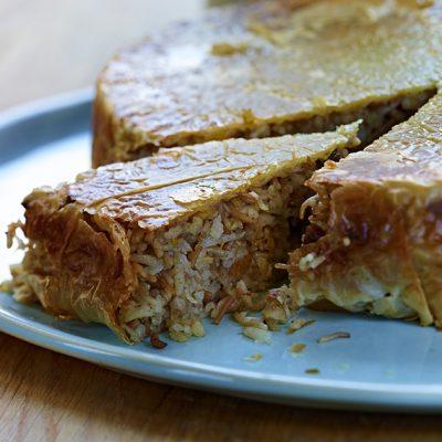 Image of Rice Pilaf en Croute