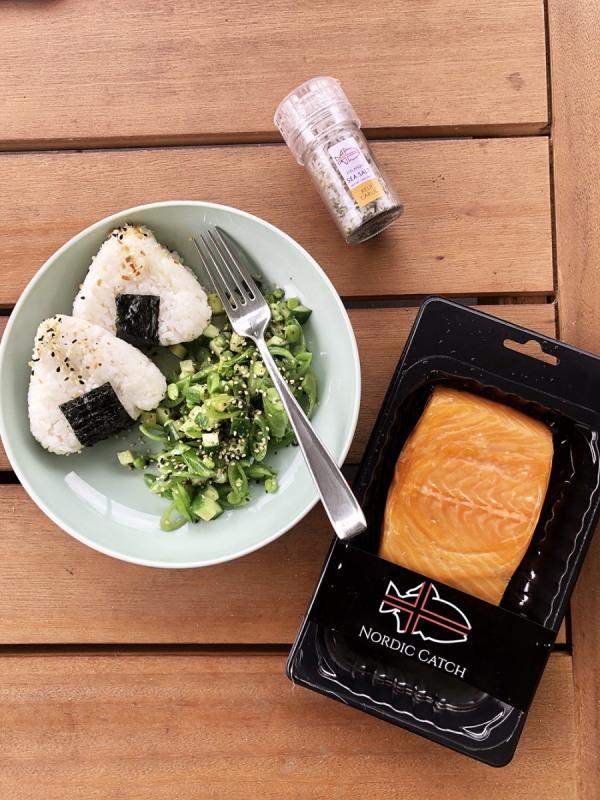 Image ofHot Smoked Salmon Onigiri