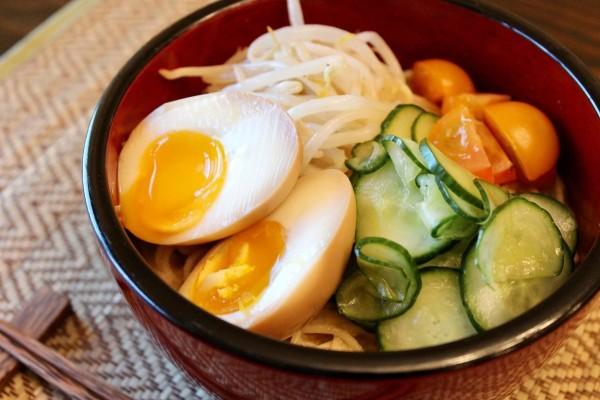 Image ofApple State Ramen Eggs
