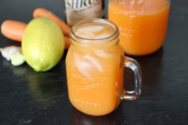 Image of Carrot- Ginger Sunshine Juice