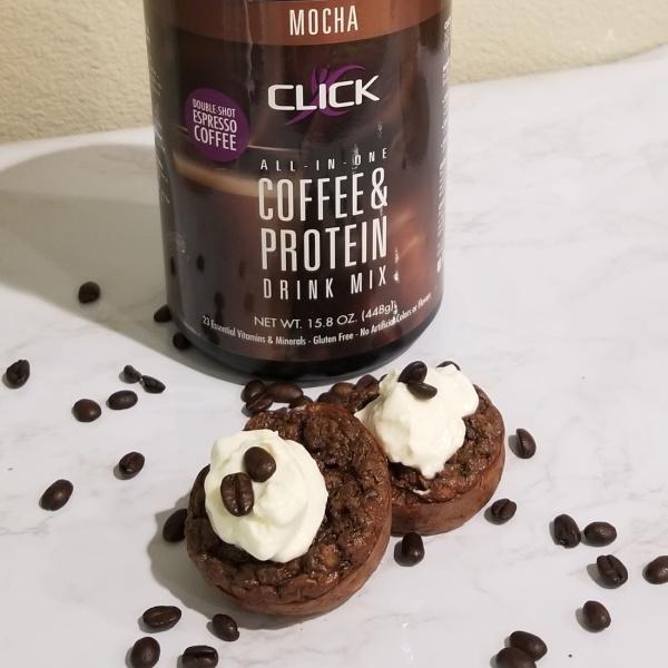 Image ofCLICK Mocha Energy Muffin