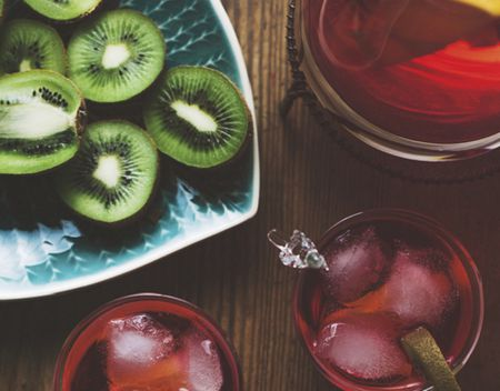 Image of strawberry kiwi wine