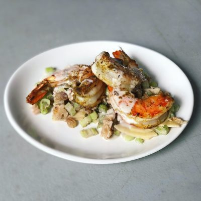 Image of Sillery Shrimp with Apple Slaw