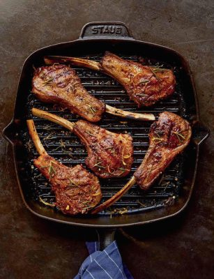 Image of Red Rubbed Baby Lamb Chops