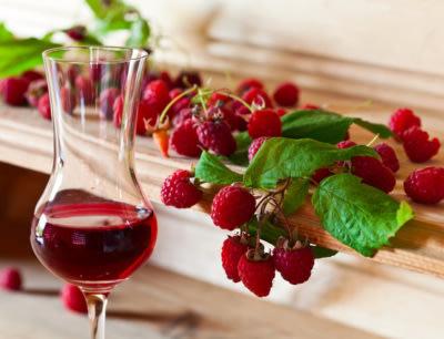 Image of raspberry wine