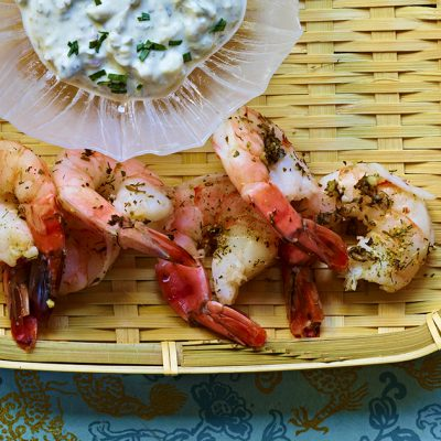 Image of Chios Poached Shrimp
