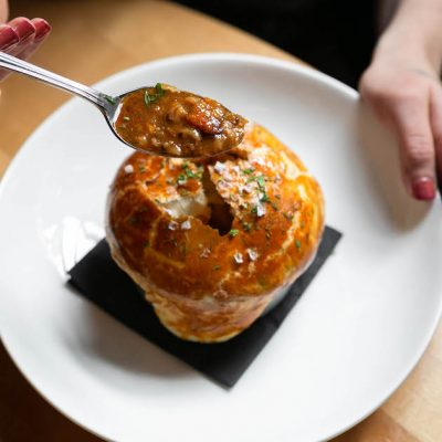 Image of Cholent Pot Pie