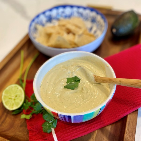 Image ofThe Best Creamy Avocado Dipping Sauce