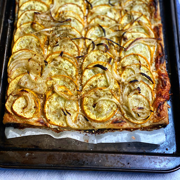 Image ofZucchini Onion Tart