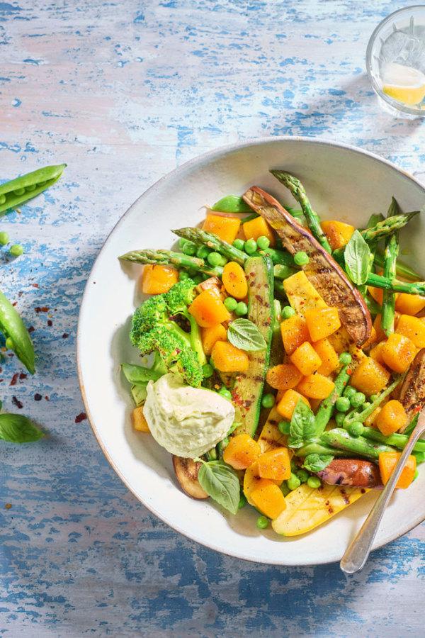 Image ofWarm Primavera Gnocchi Salad