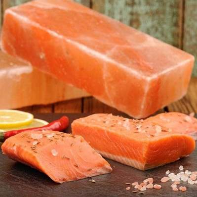 Image of How to Cook Atlantic Salmon on a Salt Block