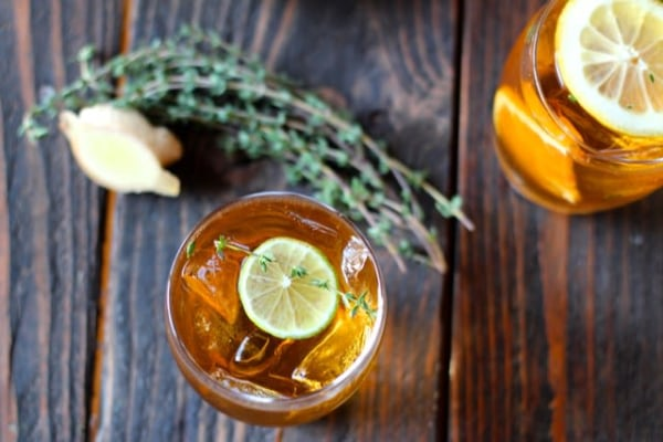 Image of ginger iced tea
