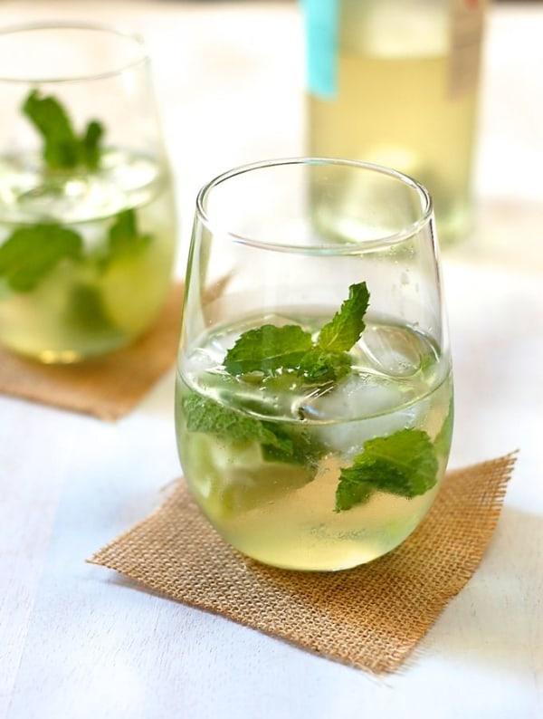 Image ofwhite wine mojito