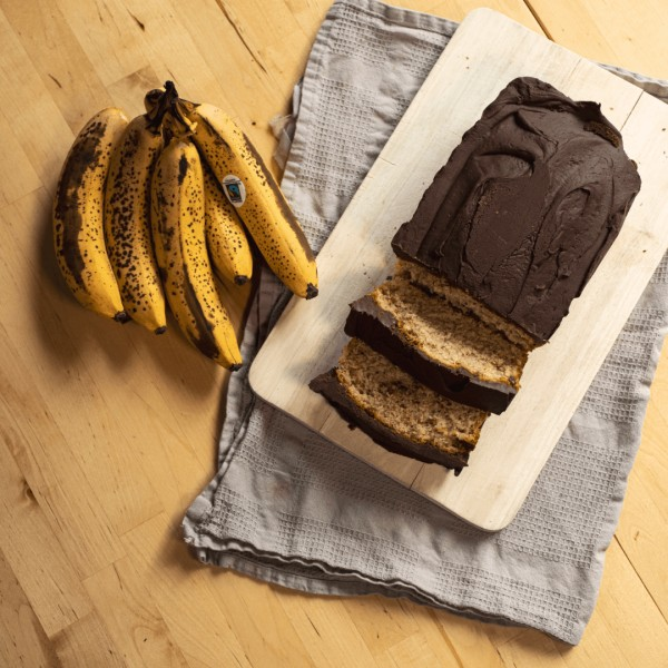 Image of Vegan Chocolate Banana Bread