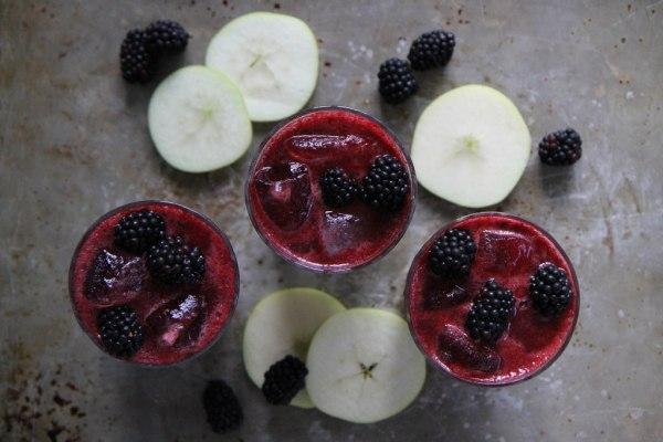 Image of blackberry cider