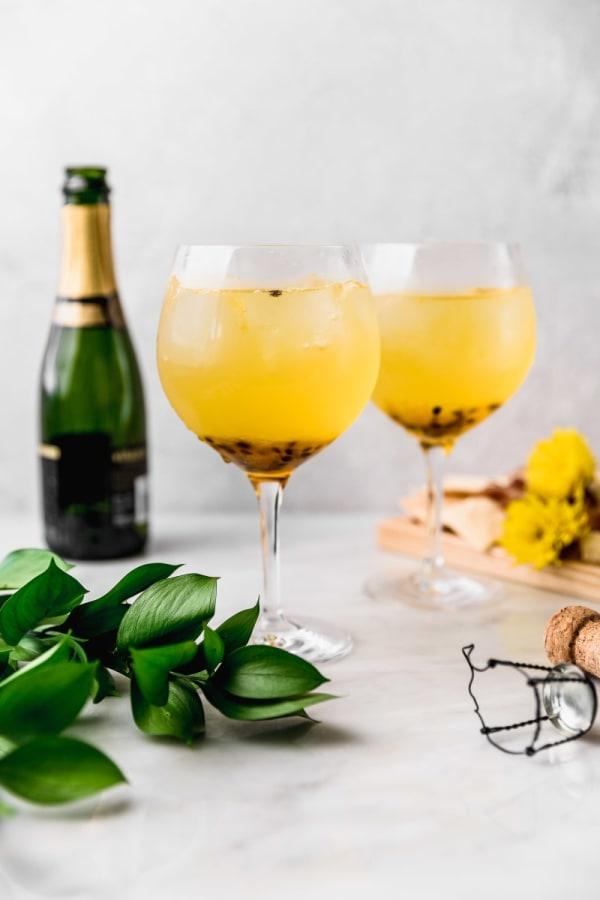 Image of Spritz de maracuyá y gin