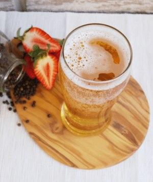 Image of strawberry cider